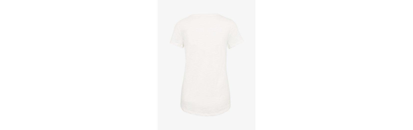 Denim Schrift Print T Tailor T Shirt Tom Shirt mit pT54xq0