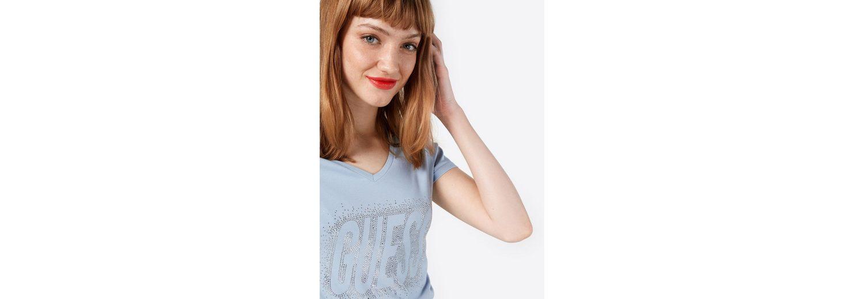 STUDS Ziersteine LOGO Print Shirt Print Shirt Guess Guess qPwxFg6p