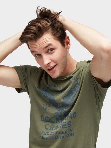 Tom T-shirt T-shirt Avec Impression Sur Le Devant