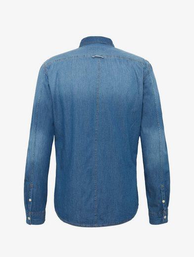 Tom Tailor Denim Shirt Denim Shirt With Breast Pockets