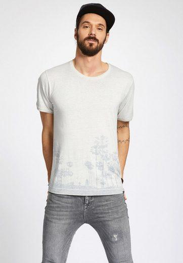 khujo T-Shirt TARD, mit Inside-Out Optik