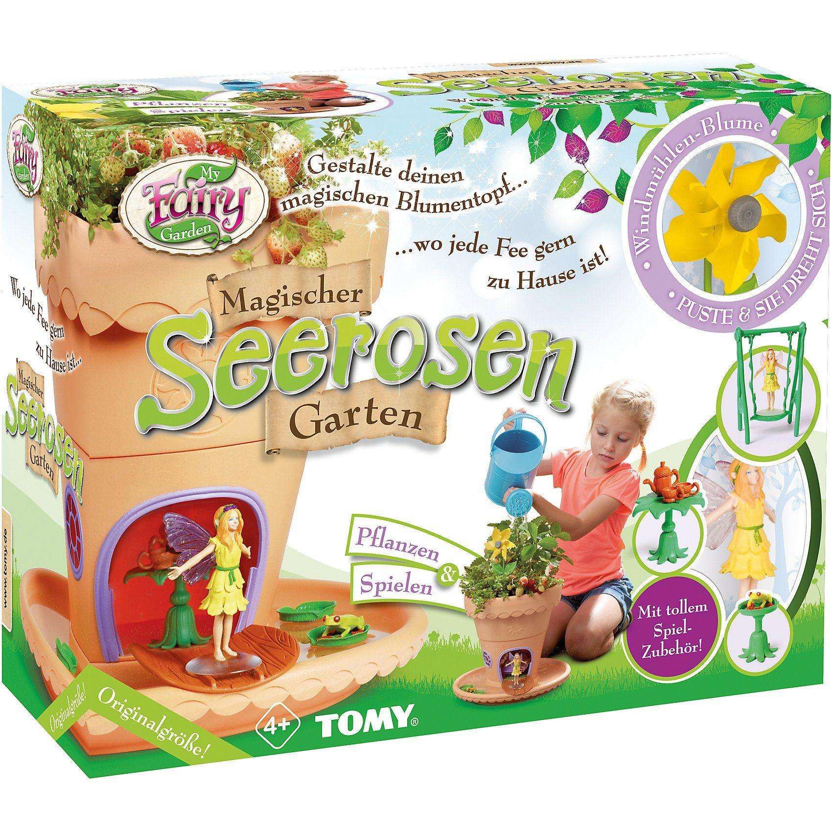 Tomy® My Fairy Garden - Magischer Seerosen Garten