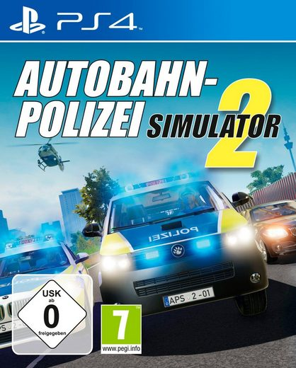 Autobahn-Polizei Simulator PlayStation 4