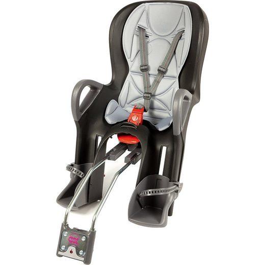 OK Baby Fahrrad-Sicherheitssitz 10+ inkl. Befestigungssystem, black