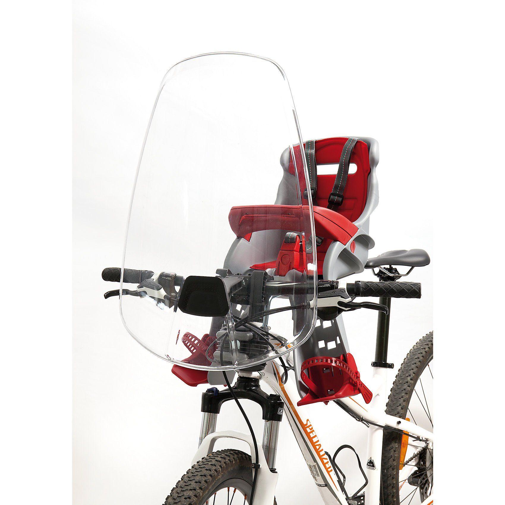 Windschutz für Fahrradlenker-Sicherheitssitz Orion, transpar