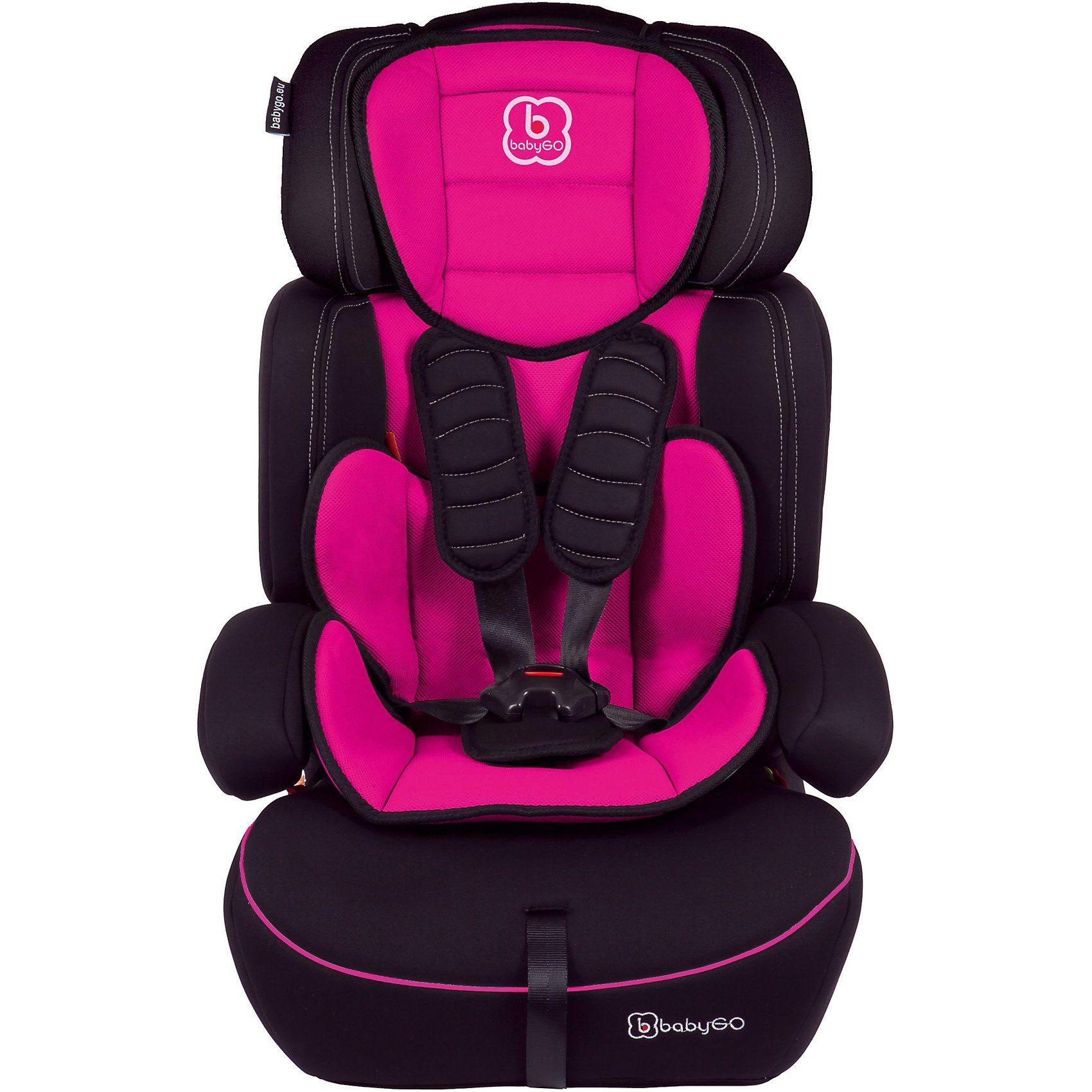 BabyGo Auto-Kindersitz FREEMOVE, pink, 2018
