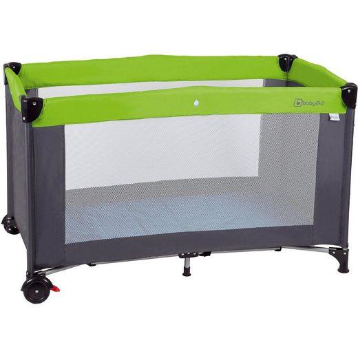 BabyGo Reisebett Sleeper Neo, grün