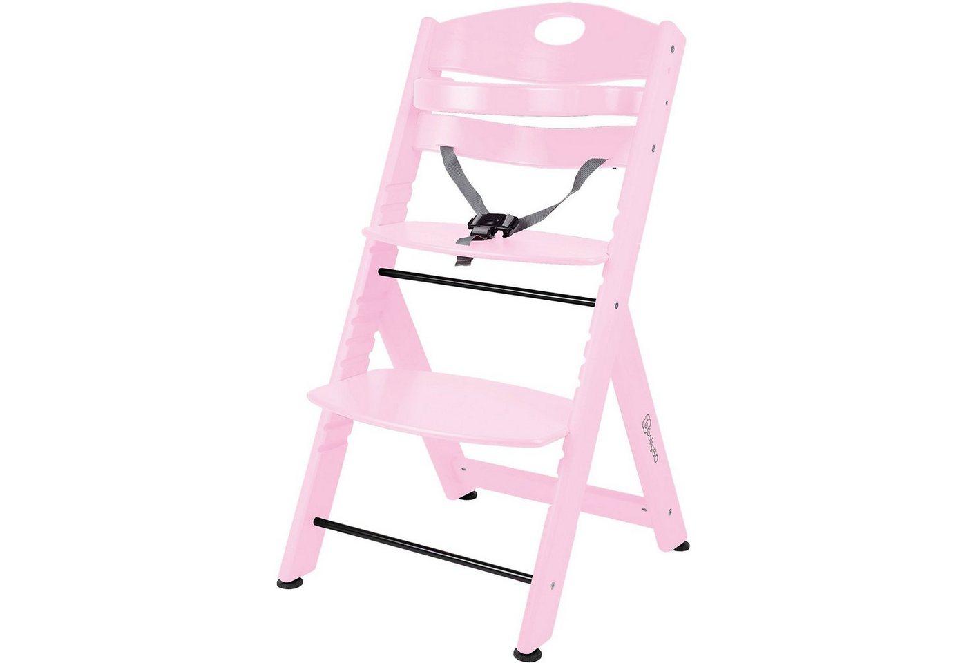Hochstühle - BabyGo Hochstuhl Family XL, pink  - Onlineshop OTTO