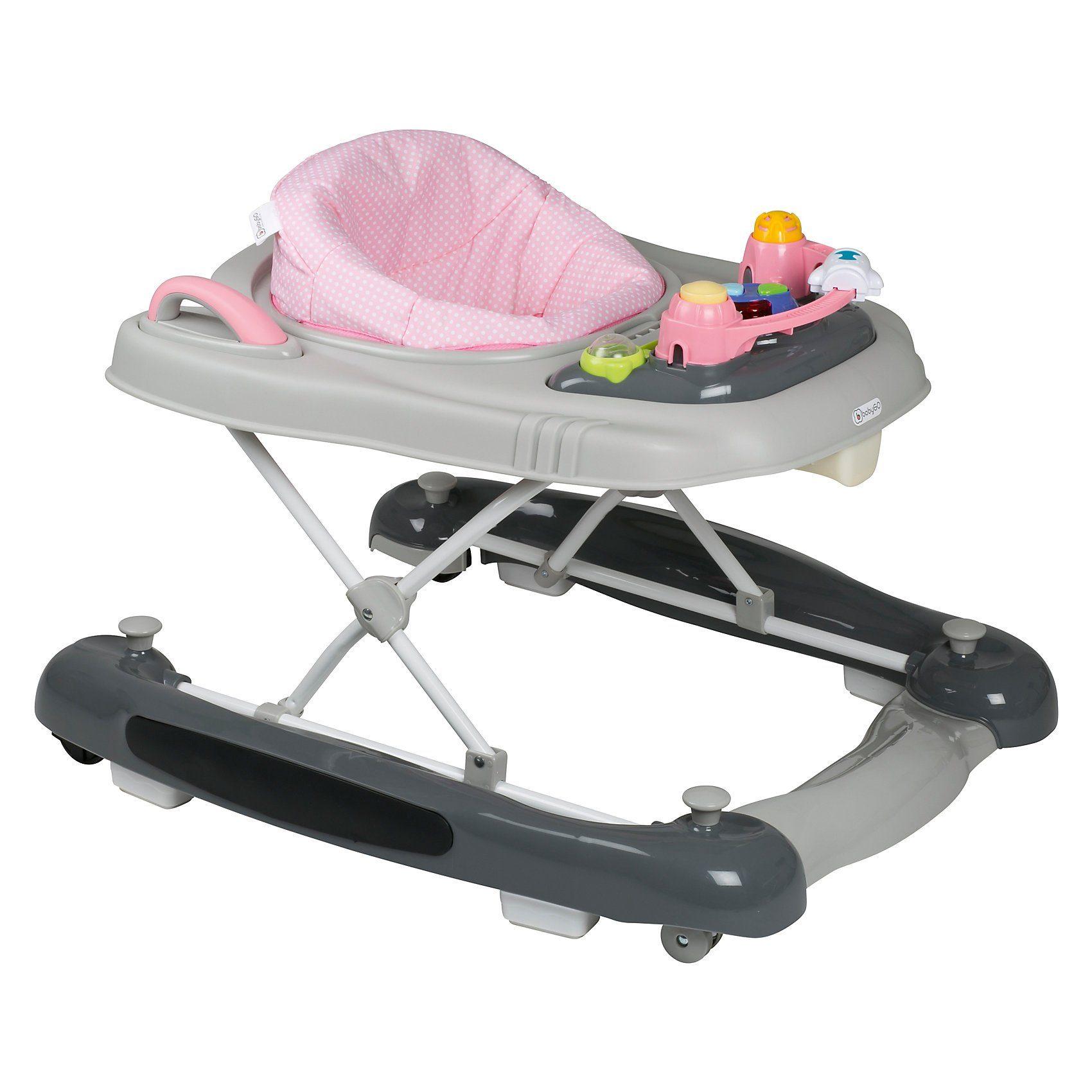 BabyGo Lauflernhilfe Walker 4in1, pink