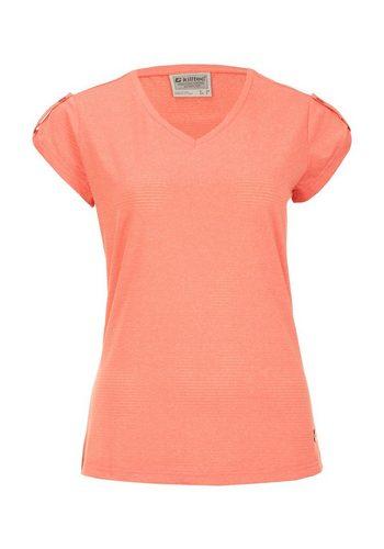 Damen Killtec T-Shirt Herana rot | 04056542786205