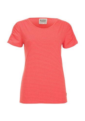 Damen Killtec T-Shirt Jenera rot | 04056542786571