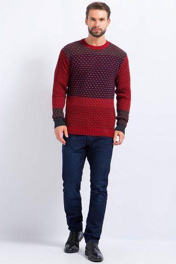 Finn Flare Pullover in modischer Strickoptik