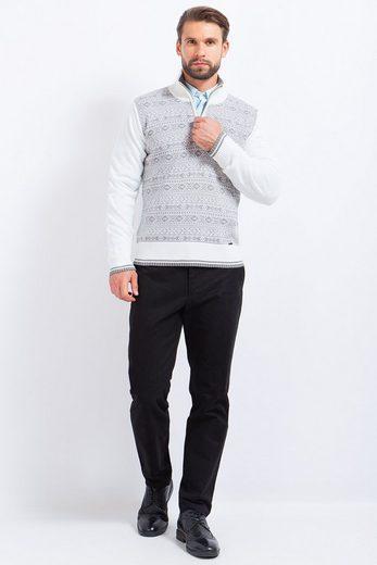 Finn Flare Pullover mit hohem Kragen
