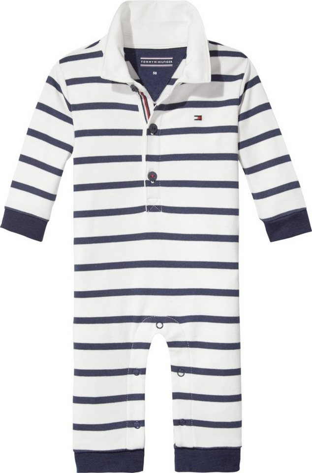 tommy hilfiger strampler peppy stripe baby rugby coverall l s online kaufen otto. Black Bedroom Furniture Sets. Home Design Ideas