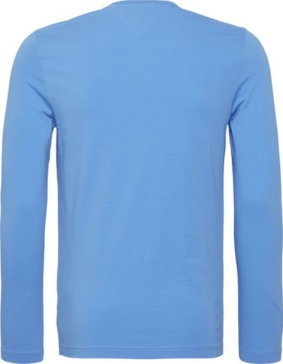 Tommy Hilfiger T-Shirt STRETCH LONG SLEEVE SLIM FIT TEE