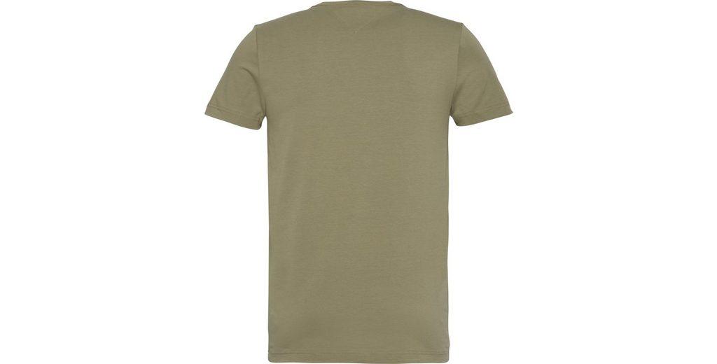 Billig 2018 Sneakernews Zum Verkauf Tommy Hilfiger T-Shirt STRETCH SLIM FIT TEE Uvxl8RG