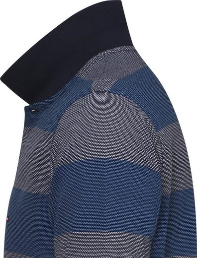 Tommy Hilfiger Poloshirt JACQUARD STRUCTURE STRIPE POLO