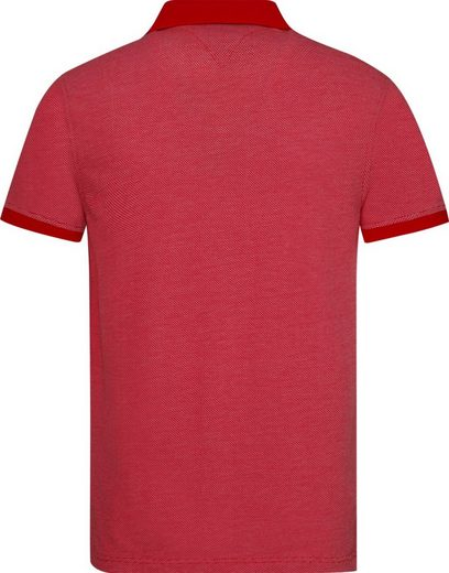 Tommy Hilfiger Poloshirt JACQUARD STRUCTURE SLIM POLO
