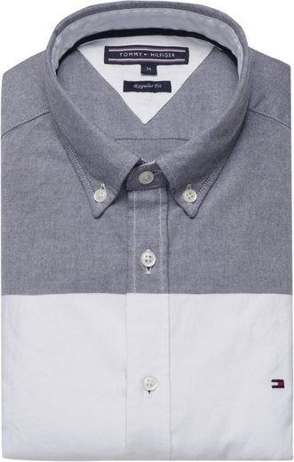 Tommy Hilfiger Hemd GLOBAL STRIPE BLOCK SHIRT