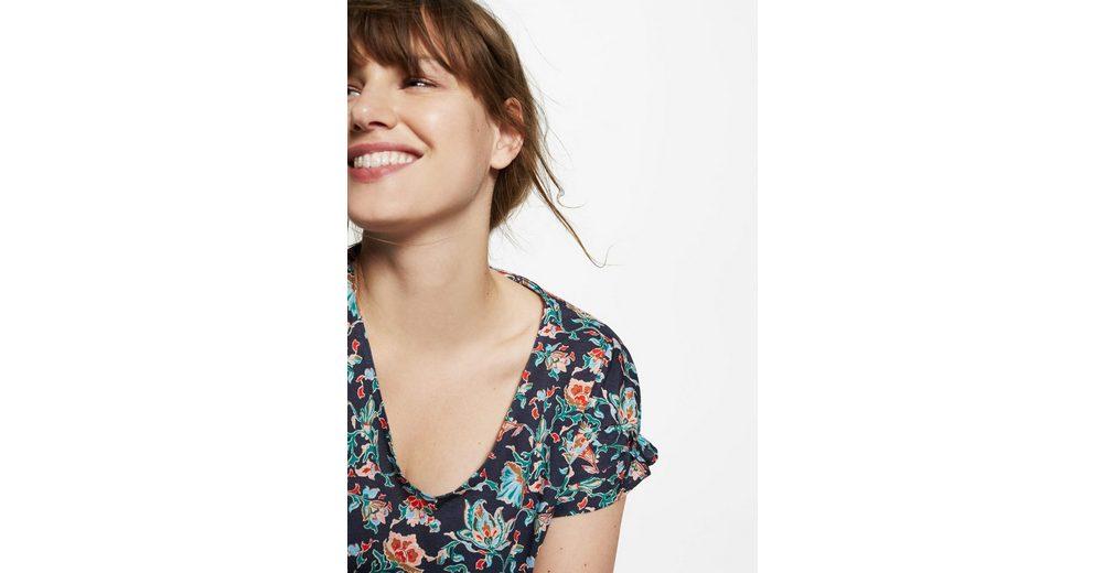 VIOLETA by Mango T-Shirt aus Bio-Baumwolle mit Blumenmotiv Günstig Kauft Heißen Verkauf Billigpreisnachlass Authentisch Auslass Heißen Verkauf Online Gehen YtlRb96Vmd