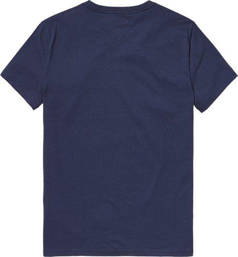 Tommy Jeans T-shirt Tjm Colorblock Font Té B