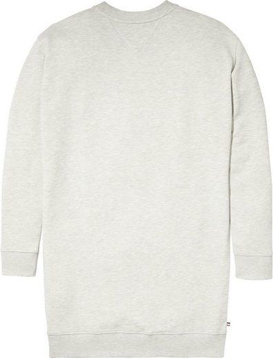 Tommy Jeans Kleid TJW LOGO SWEATSHIRT DRESS