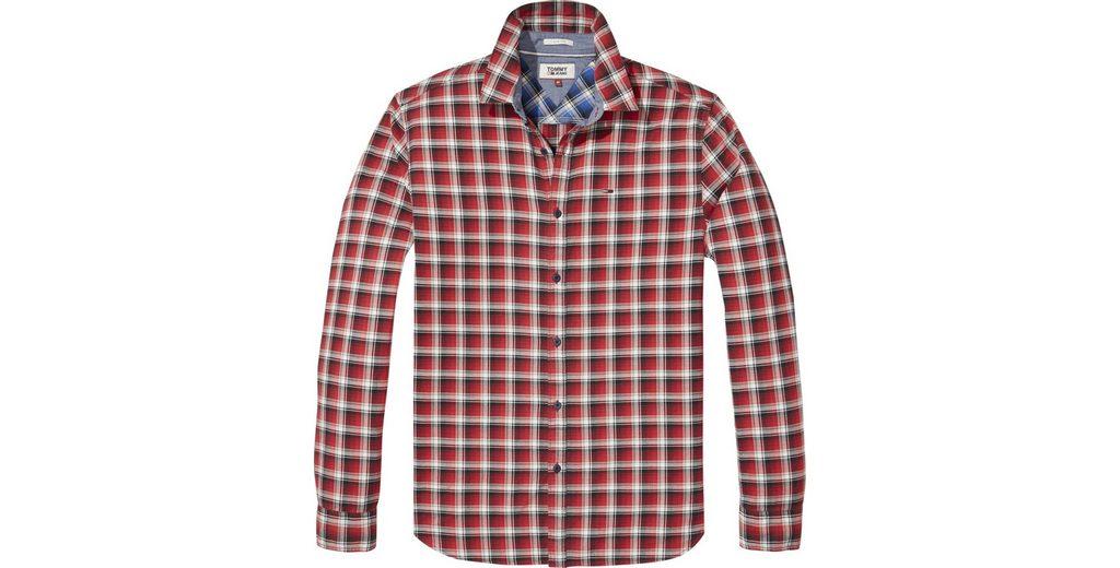 Günstiger Preis Fälscht Tommy Jeans Hemd TJM ESSENTIAL WASHED CHECK SHIRT Günstig Kaufen Echt Neueste Billige Finish Freies Verschiffen Outlet-Store jyhaLOM