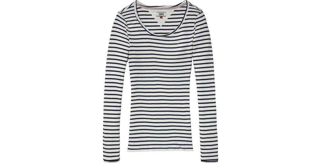 Besuchen Online Tommy Jeans T-Shirt TJW STRIPE RIB LONGSLEEVE Erscheinungsdaten Online Spielraum Beruf Freies Verschiffen Gutes Verkauf Qualität Freies Verschiffen LHwX9ALspb