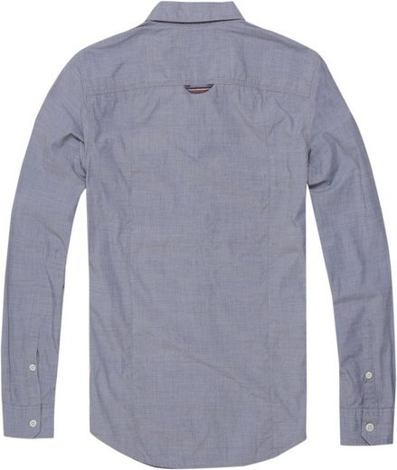 Tommy Jeans Hemd TJM ESSENTIAL SOLID STRETCH SHIRT