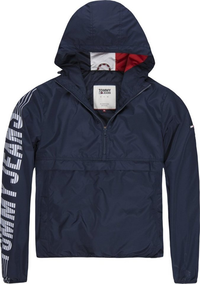 Tommy Jeans Jacke »TJM GRAPHIC PULLOVER ANORAK« | OTTO