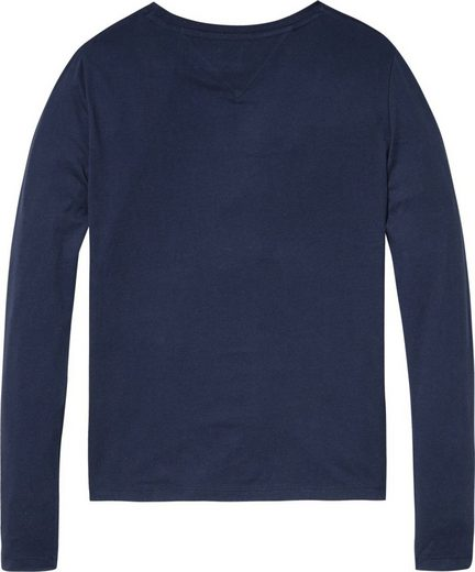 Tommy Jeans T-Shirt TJW EMBROIDERED LOGO LONGSLEEVE