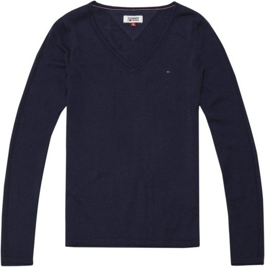 Tommy Jeans Pullover TJW WOOLBLEND V NECK SWEATER