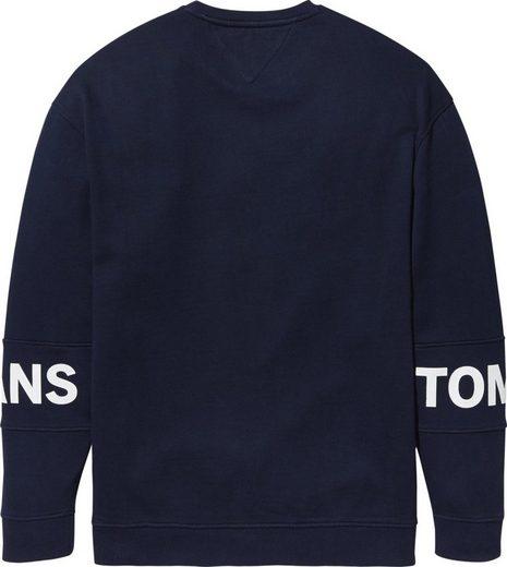 Tommy Jeans Sweatshirt Tjm Essential Banded Logo Crew
