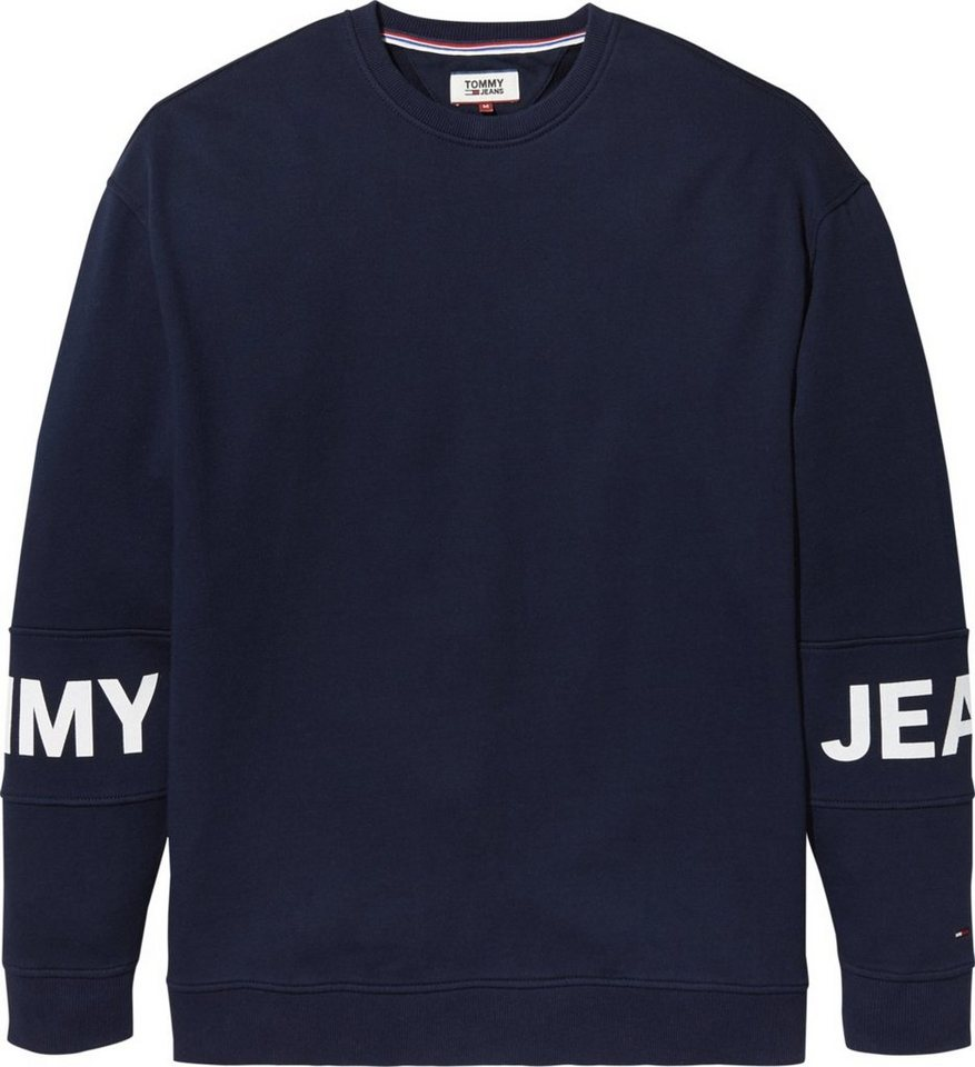 Tommy Jeans Sweatshirt »TJM ESSENTIAL BANDED LOGO CREW« online ... e568eb6b2a