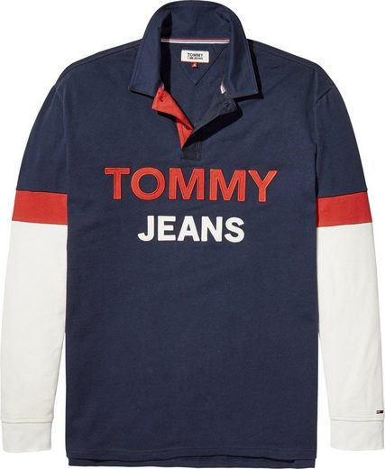 Tommy Jeans T-Shirt TJM LOGO RUGBY SHIRT
