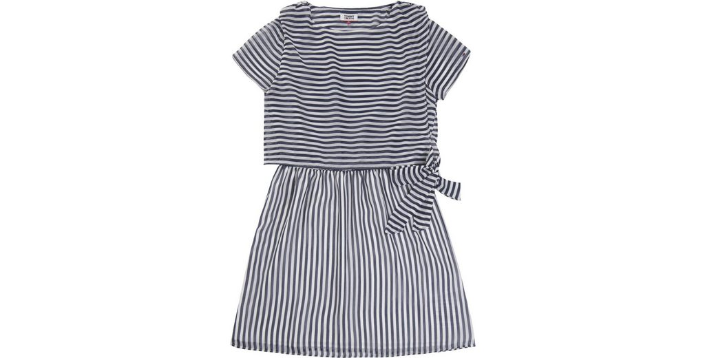 Tommy Jeans Kleid TJW STRIPE DRESS Auslass Wiki 6V7uNCB3PK