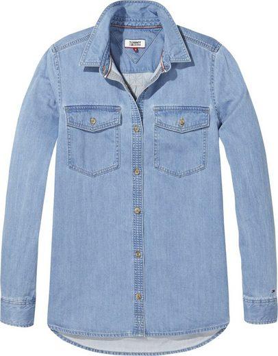 Tommy Jeans Bluse TJW DENIM SHIRT LIGHT