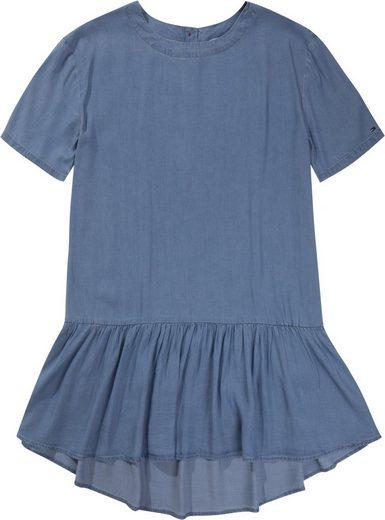 Tommy Jeans Kleid TJW INDIGO DROPPED WAIST DRESS
