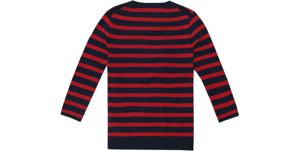 Tommy Jeans Pullover TJW STRIPE BADGE SWEATER Günstig Kaufen Neue SiveSMGP