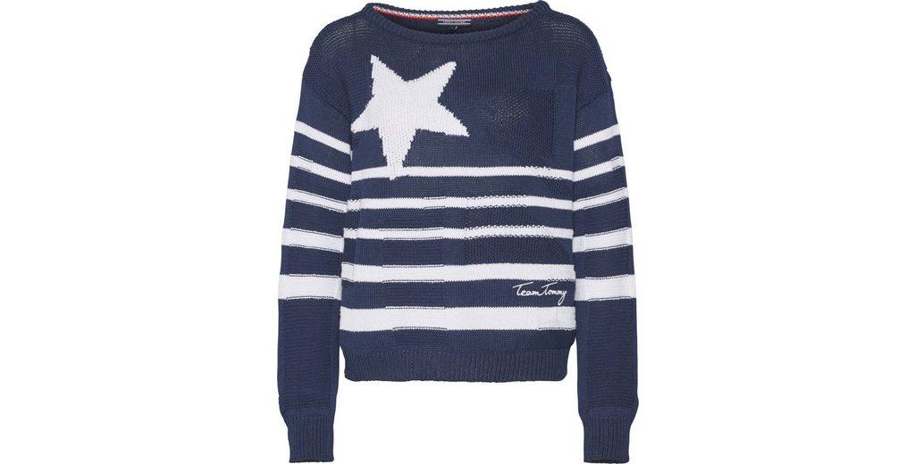 Gutes Angebot Freies Verschiffen Großer Verkauf Tommy Hilfiger Pullover NEW HARPER GRAPHIC STP SWTR peJjqXm9aX