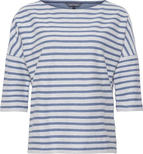 Tommy Hilfiger T-Shirt ARCHER BOAT-NK TOP LS