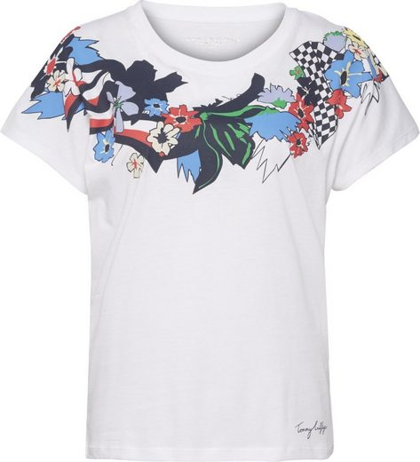 Tommy Hilfiger T-Shirt CARMA FLORAL TEE SS