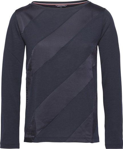 Tommy Hilfiger T-Shirt BRINA BOAT-NK TOP LS