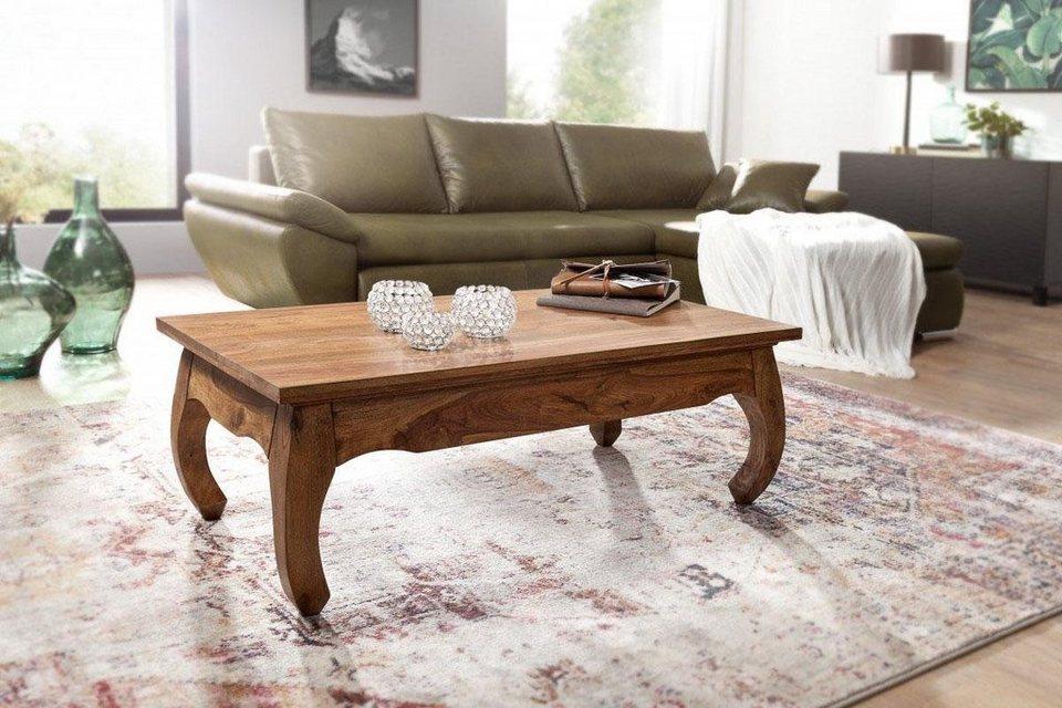 home affaire couchtisch opium aus massivem sheeshamholz online kaufen otto. Black Bedroom Furniture Sets. Home Design Ideas