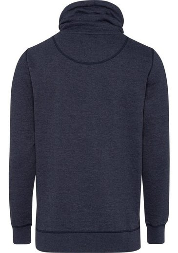 Esprit Sweatshirt, With Shawl Collar And Contrast Drawstrings