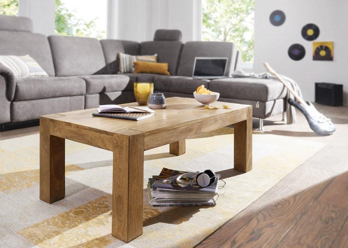 Home affaire Couchtisch »Harish« aus massivem Akazienholz