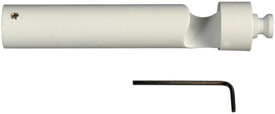 Trägerverlängerung, Liedeco, (1-St), für Gardinenstangen Ø 20 mm