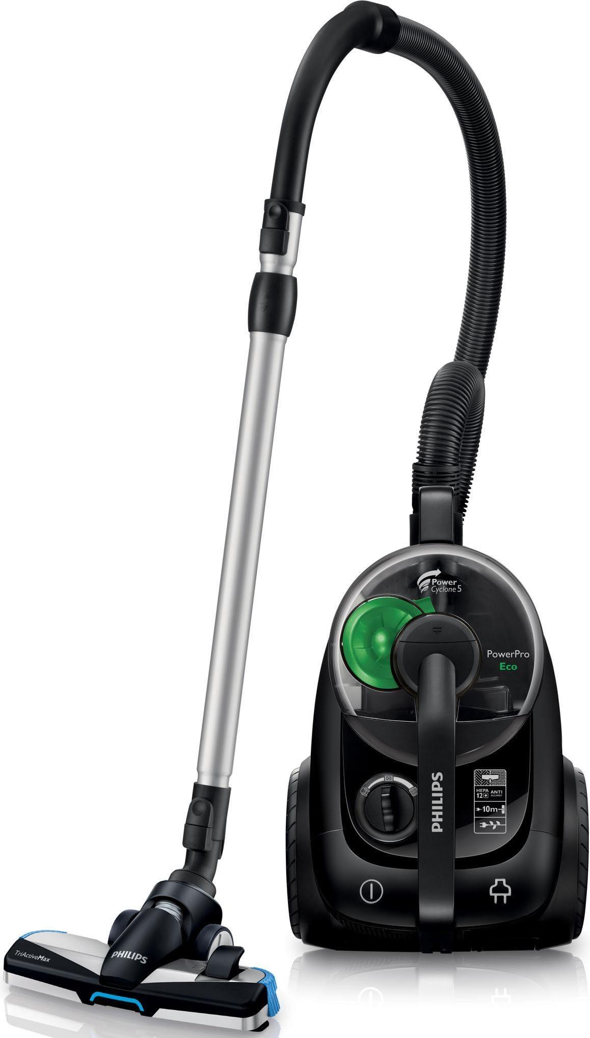Philips Bodenstaubsauger FC8769/91 PowerPro Eco Version, 650 Watt, beutellos, ohne Beutel