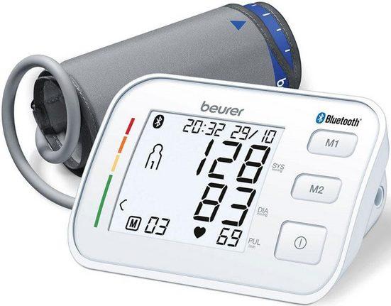 BEURER Oberarm-Blutdruckmessgerät BM 57, Bluetooth