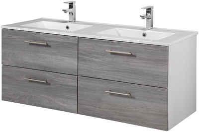 Waschtisch »Trento«, Breite 120 Cm, Doppelwaschtisch U0026 Doppelwaschbecken,  ...